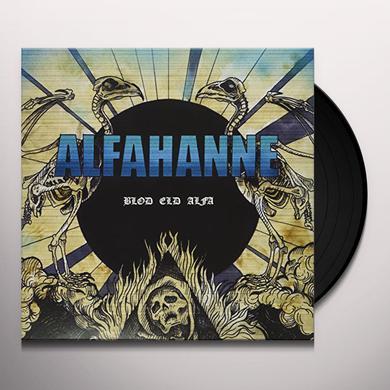 Alfahanne BLOD ELD ALFA Vinyl Record - UK Release