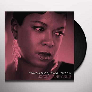 YUILLE ELAINE JOYCE WELCOME TO MY WORLD - PART TWO Vinyl Record - Italy Import