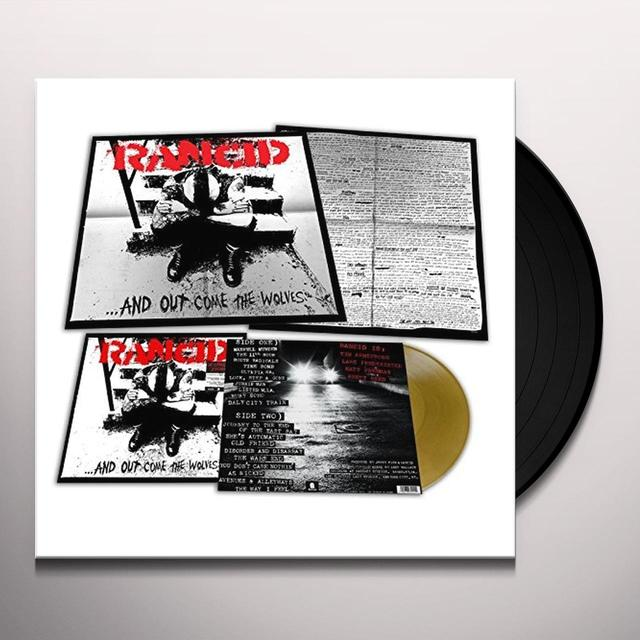Rancid AND OUT COME THE WOLVES: 20TH ANNIVERSARY Vinyl Record