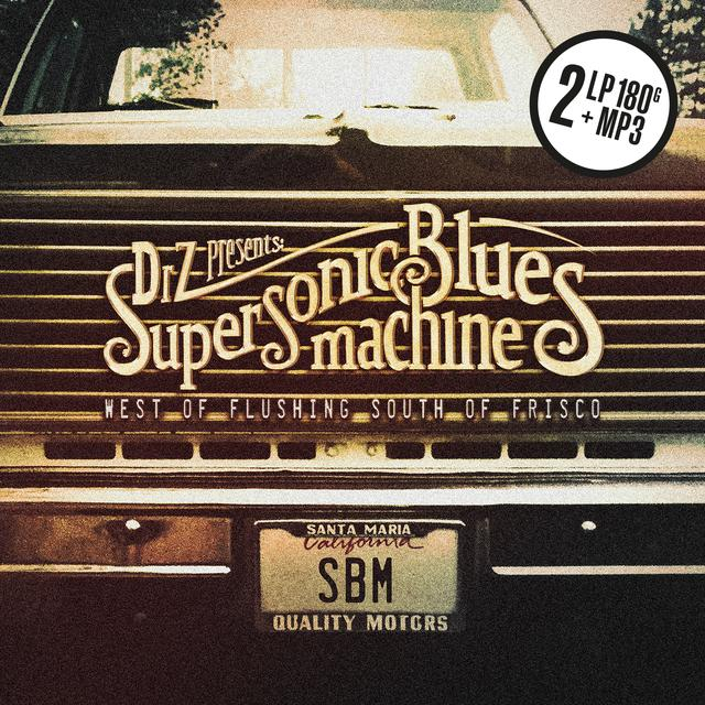 Supersonic Blues Machine WEST OF FLUSHING SOUTH OF FRISCO Vinyl Record - UK Release