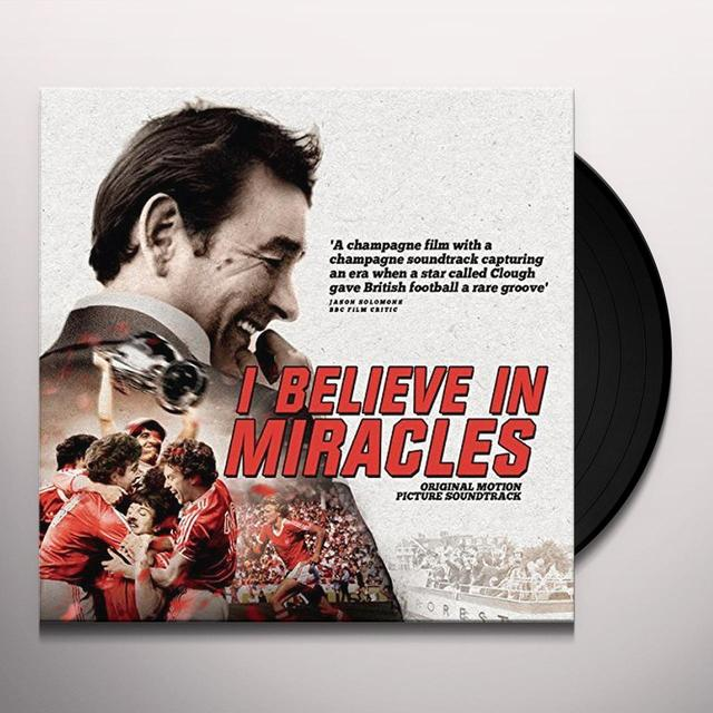 I BELIEVE IN MIRACLES / O.S.T. (UK) I BELIEVE IN MIRACLES / O.S.T. Vinyl Record - UK Import