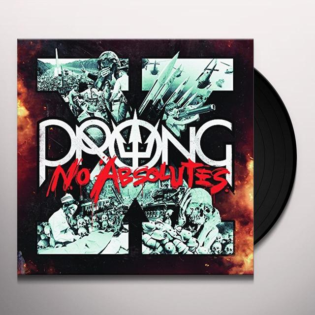 Prong X - NO ABSOLUTES (2LP+CD) Vinyl Record - w/CD, UK Release