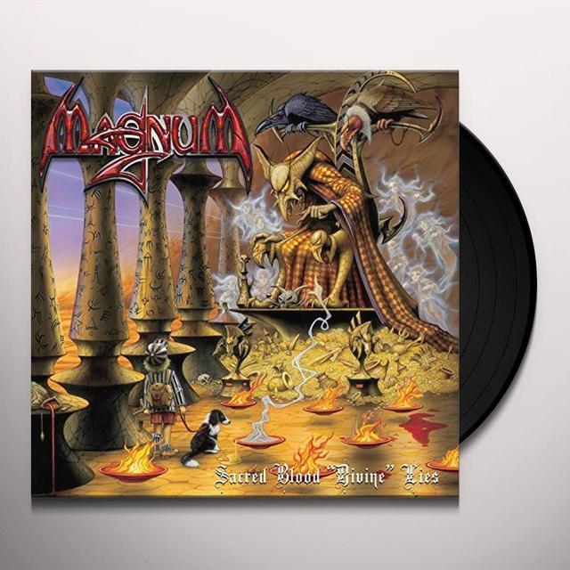 Magnum SACRED BLOOD DIVINE LIES(2LP+CD) Vinyl Record - w/CD, UK Import