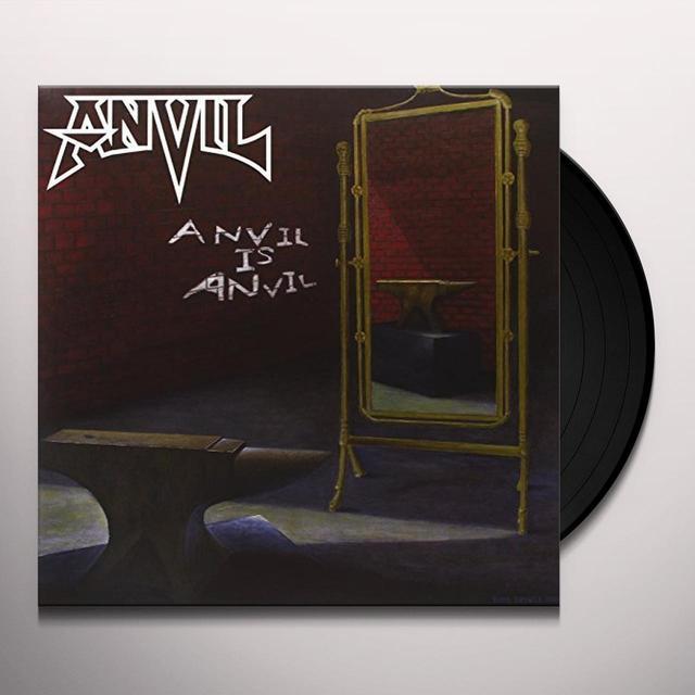 ANVIL IS ANVIL (2LP+CD) Vinyl Record - w/CD, UK Release