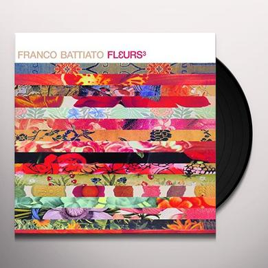 Franco Battiato FLEURS 3 Vinyl Record - Italy Import