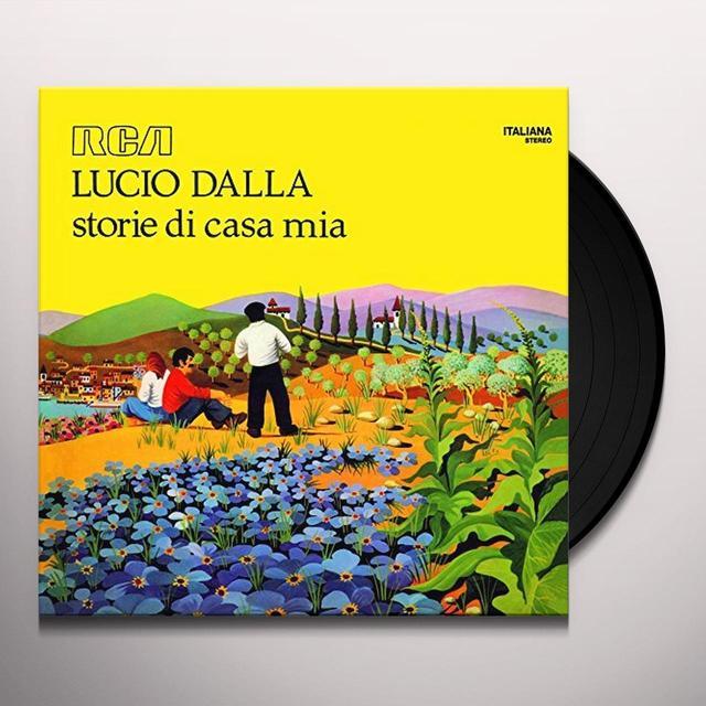 DALLA LUCIO STORIE DI CASA MIA Vinyl Record - Italy Import
