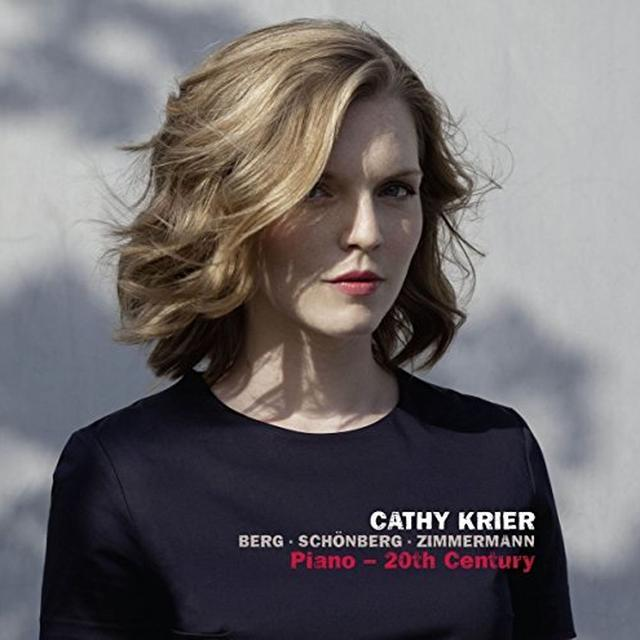 Cathy Krier BERG/SCHONBERG/ZIMMERMANN: PIANO - 20TH CENTURY Vinyl Record