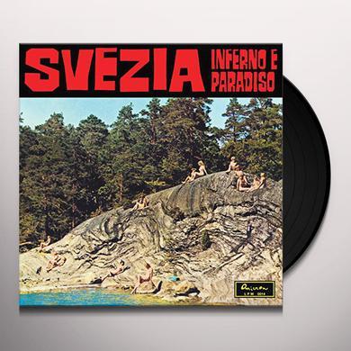Piero Umiliani SVEZIA INFERNO E PARADISO Vinyl Record