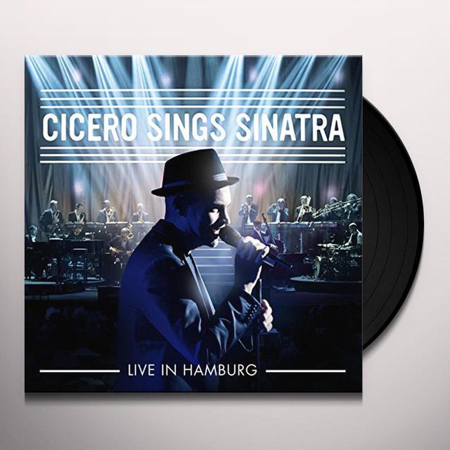 Roger Cicero CICERO SINGS SINATRA-LIVE IN HAMBURG Vinyl Record