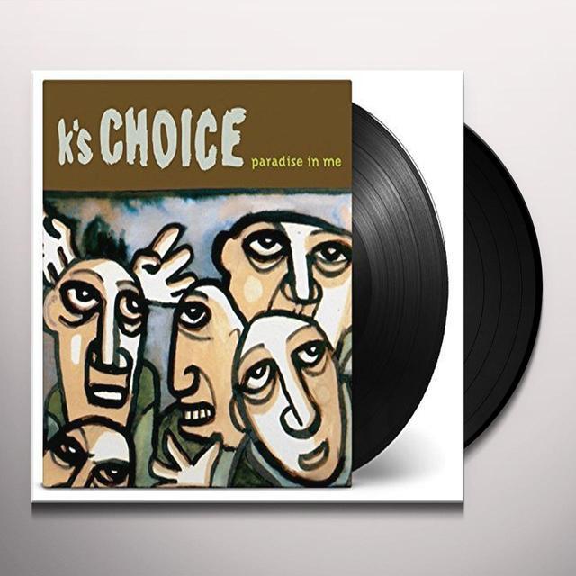 K's Choice PARADISE IN ME Vinyl Record - 180 Gram Pressing, Holland Import