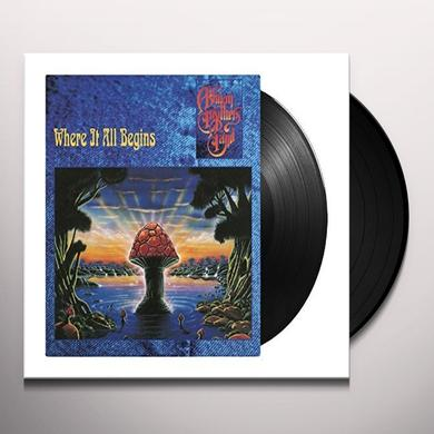 The Allman Brothers Band  WHERE IT ALL BEGINS Vinyl Record - 180 Gram Pressing, Holland Import