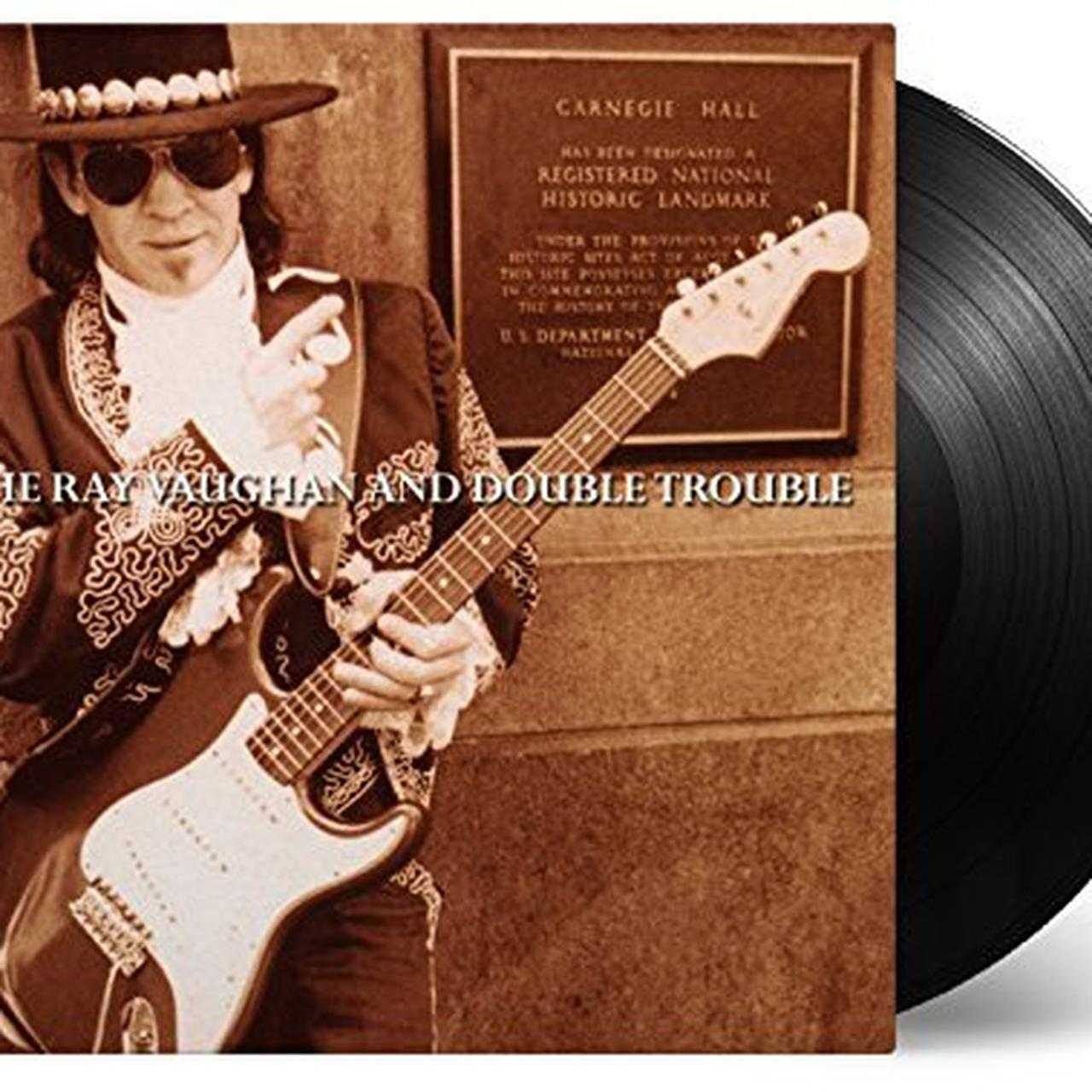 stevie ray vaughan double trouble live at carnegie hall vinyl record. Black Bedroom Furniture Sets. Home Design Ideas