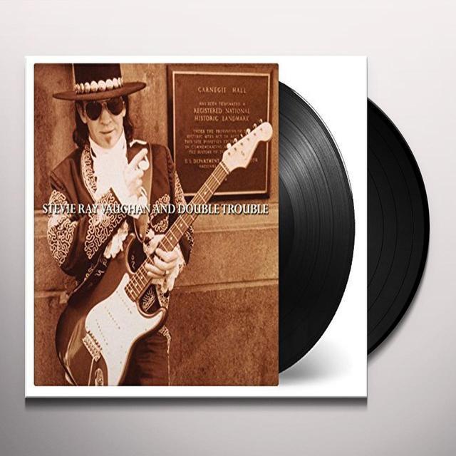 Stevie Ray Vaughan LIVE AT CARNEGIE HALL Vinyl Record - 180 Gram Pressing, Holland Import