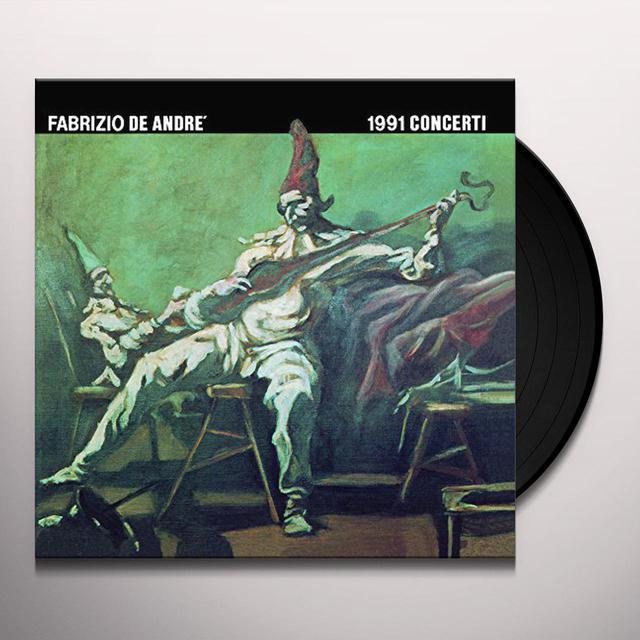 Fabrizio De André 1991 CONCERTI Vinyl Record