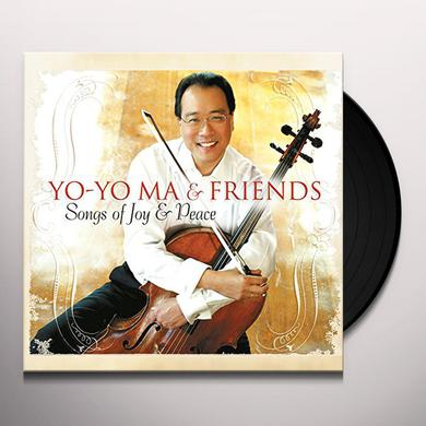 Yo-Yo Ma & Friends SONGS OF JOY & PEACE Vinyl Record - Holland Import
