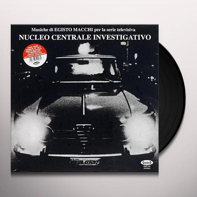 NUCLEO CENTRALE INVESTIGATIVO / O.S.T. (WSV) (ITA) NUCLEO CENTRALE INVESTIGATIVO / O.S.T. (WSV) Vinyl Record - Italy Import