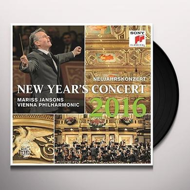 Wiener Philharmoniker NEW YEAR'S CONCERT 2016 Vinyl Record - Portugal Import