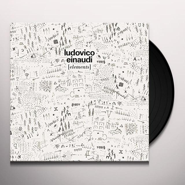 Ludovico Einaudi ELEMENTS Vinyl Record - Canada Import