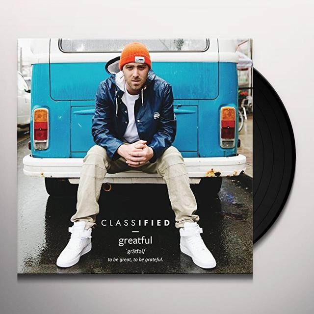 Classified GRATEFUL Vinyl Record - Canada Import