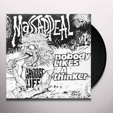 MASSAPPEAL NOBODY LIKES A THINKER (RED & GRAY SPLATTERED) Vinyl Record