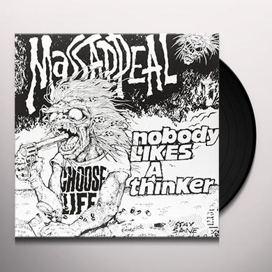 MASSAPPEAL NOBODY LIKES A THINKER (GREEN VOMIT COLORED VINYL) Vinyl Record