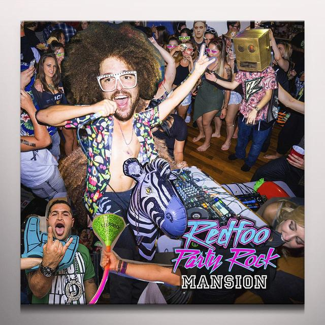 Redfoo PARTY ROCK MANSION Vinyl Record - Colored Vinyl, Digital Download Included