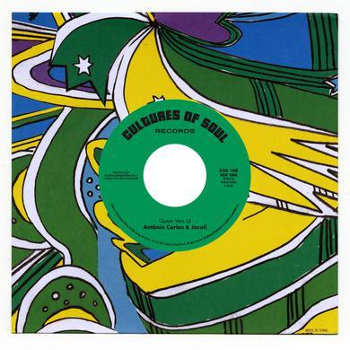 Antonio Carlos / Os Incriveis QUEM VEM LA / PAZ E AMOR Vinyl Record