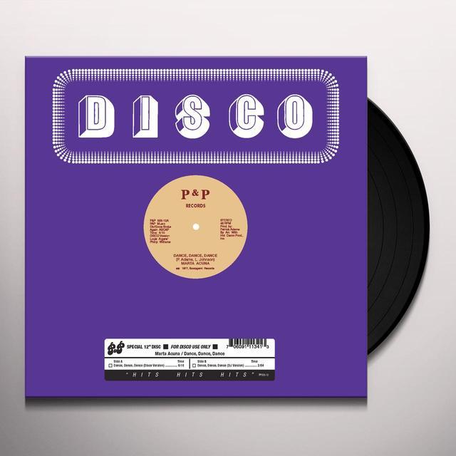 Marta Acuna DANCE DANCE DANCE Vinyl Record