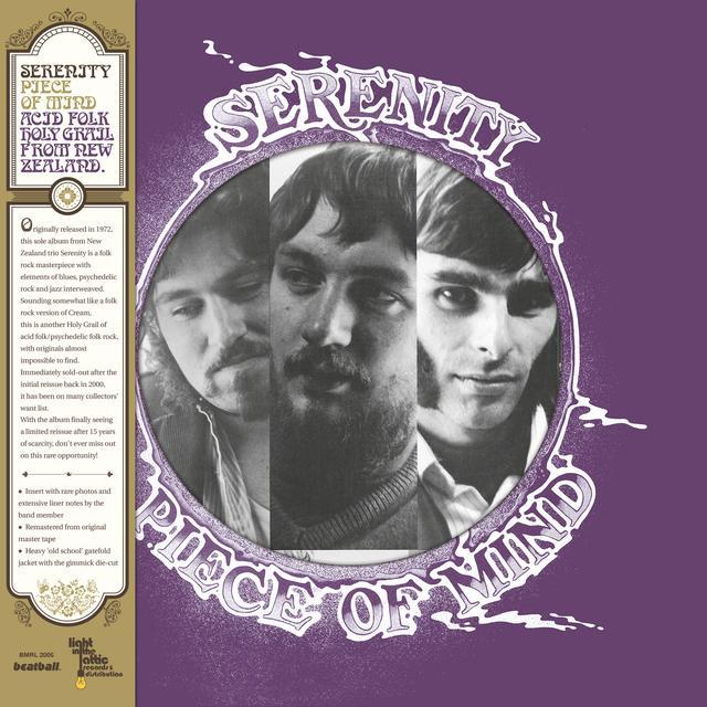Serenity PIECE OF MIND Vinyl Record