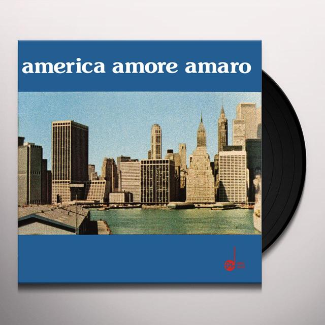 R. Ducros / L. Simoncini AMERICA AMORE AMARO Vinyl Record - 180 Gram Pressing, Reissue