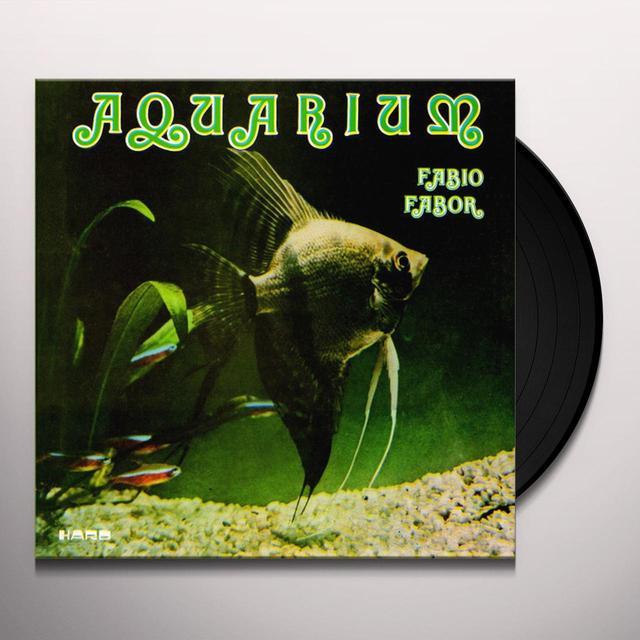 FABIO FABOR AQUARIUM Vinyl Record - 180 Gram Pressing, Reissue