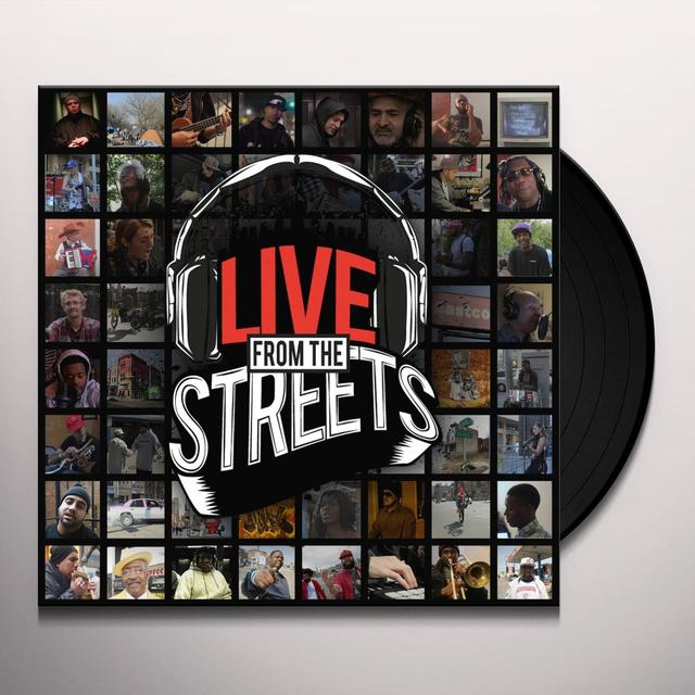 Mr. Green LIVE FROM THE STREETS Vinyl Record