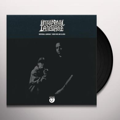 DREGS ONE / ILL SUGI UNIVERSAL LANGUAGE Vinyl Record - Limited Edition