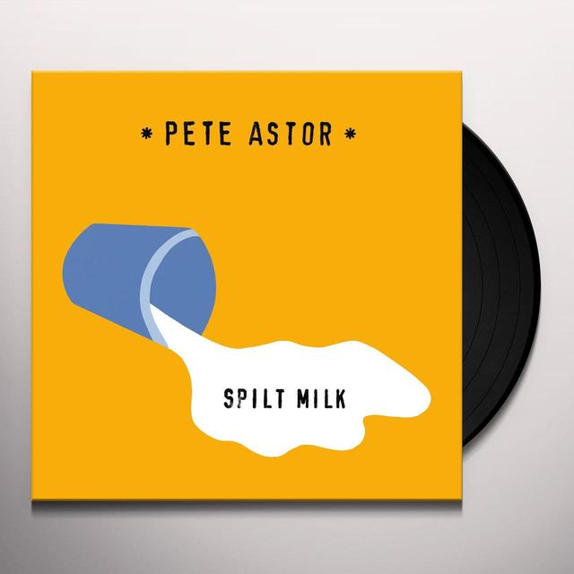 Pete Astor SPILT MILK Vinyl Record
