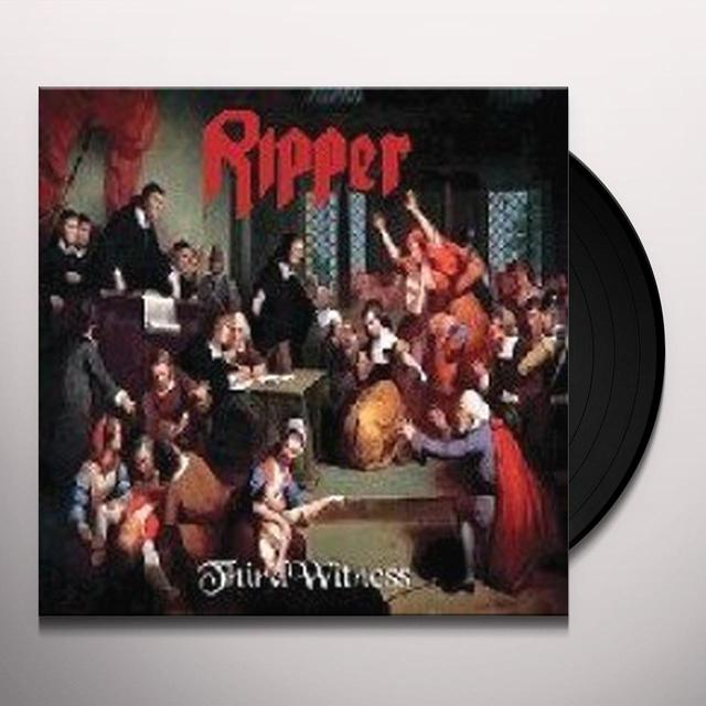 Ripper THIRD WITNESS Vinyl Record - Italy Import
