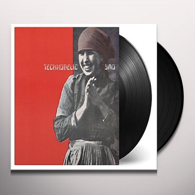 Yellow Magic Orchestra TECHNODELIC Vinyl Record - Holland Import