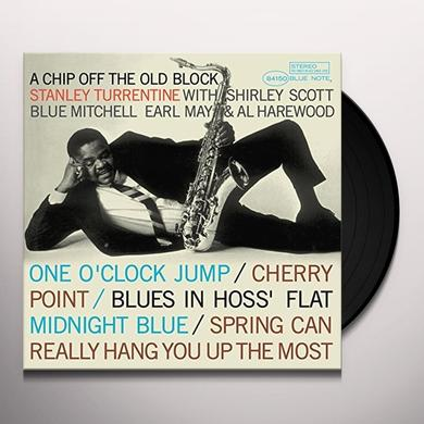 Stanley Turrentine CHIP OFF THE OLD BLOCK Vinyl Record - 180 Gram Pressing, Spain Import