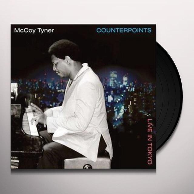 Mccoy Tyner COUNTERPOINTS - LIVE IN TOKYO Vinyl Record - 180 Gram Pressing, Spain Import