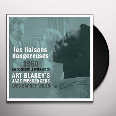 Art Blakey & The Jazz Messengers LES LIAISONS DANGEREUSES OST Vinyl Record
