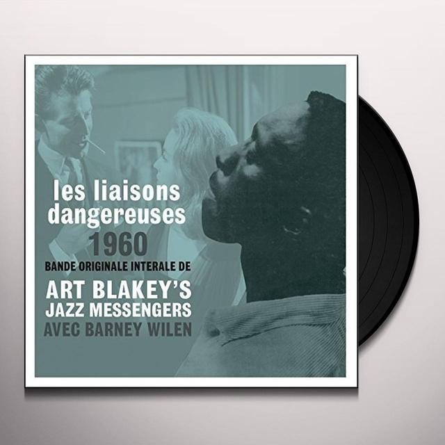 Art Blakey & The Jazz Messengers LES LIAISONS DANGEREUSES OST Vinyl Record - UK Import