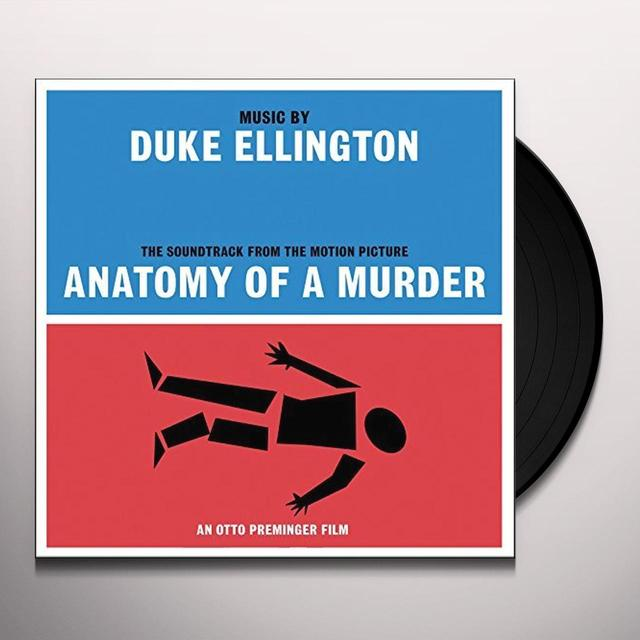 Duke Ellington ANATOMY OF A MURDER OST Vinyl Record - UK Import
