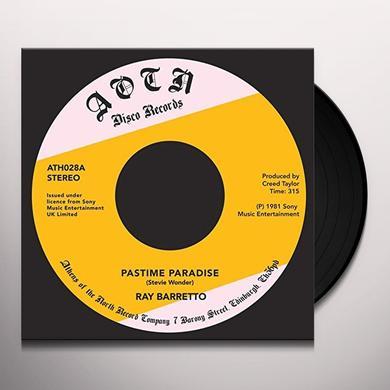Ray Barretto PASTIME PARADISE Vinyl Record - UK Import