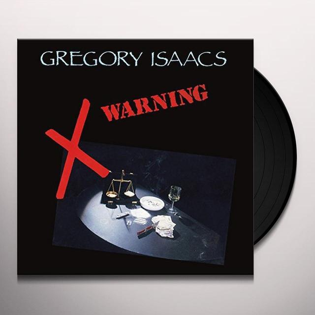 Gregory Isaacs WARNING Vinyl Record - UK Release