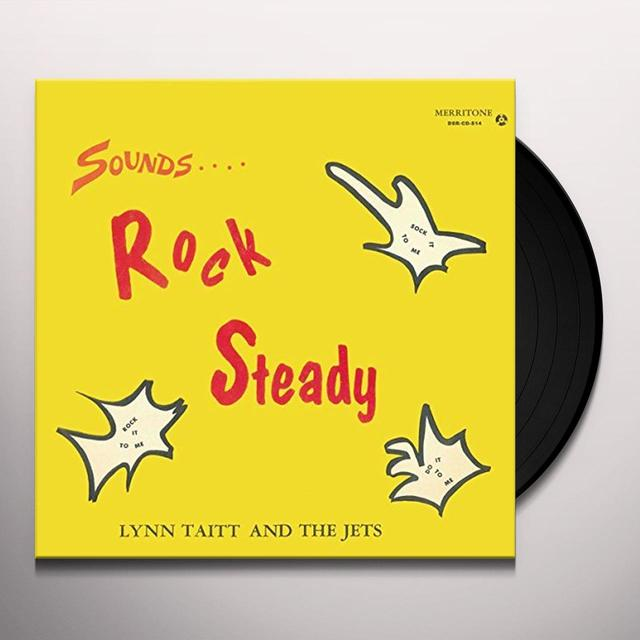 Lynn Taitt & The Jets SOUNDS ROCK STEADY Vinyl Record - UK Release