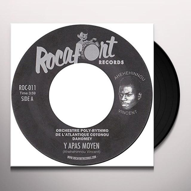 Y APAS MOYEN / PO LUSI / VARIOUS (UK) Y APAS MOYEN / PO LUSI / VARIOUS Vinyl Record