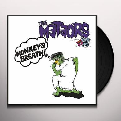 The Meteors MONKEY BREATH Vinyl Record - UK Release