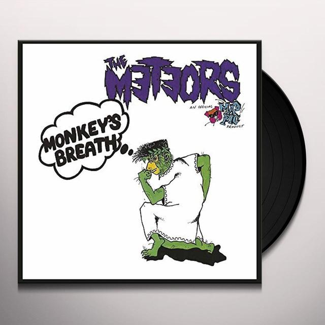 The Meteors MONKEY BREATH Vinyl Record - UK Import