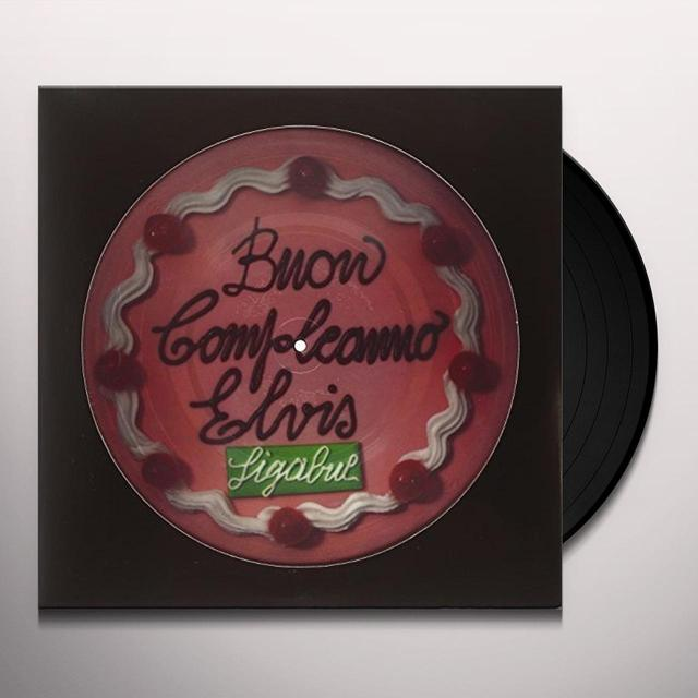 Luciano Ligabue BUON COMPLEANNO ELVIS (PICTURE DISC + BLACK VINYL) Vinyl Record