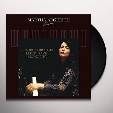 Martha Argerich CHOPIN BRAHMS LISZT TAVEL PROKOFIEV Vinyl Record