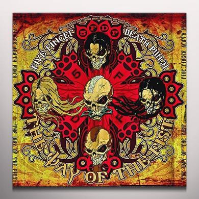 Five Finger Death Punch WAY OF THE FIST (BLOOD RED COLOURED VINYL) Vinyl Record
